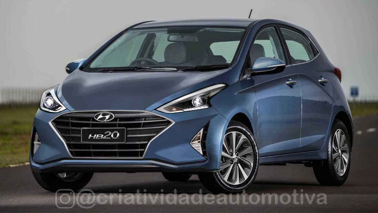 Hyundai HB20 2020- Projeção
