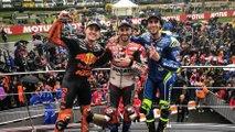 Dovizioso, Rins y Espargaró, MotoGP Valencia 2018