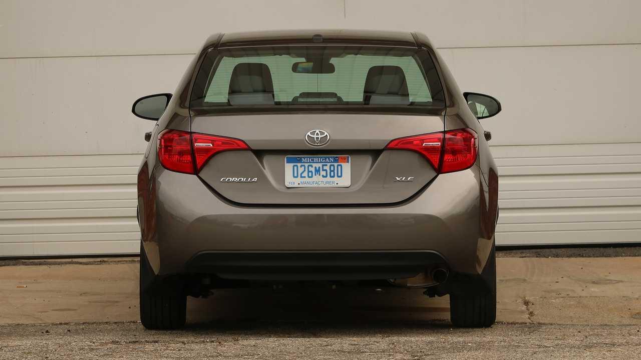 Toyota Corolla 2017 rear