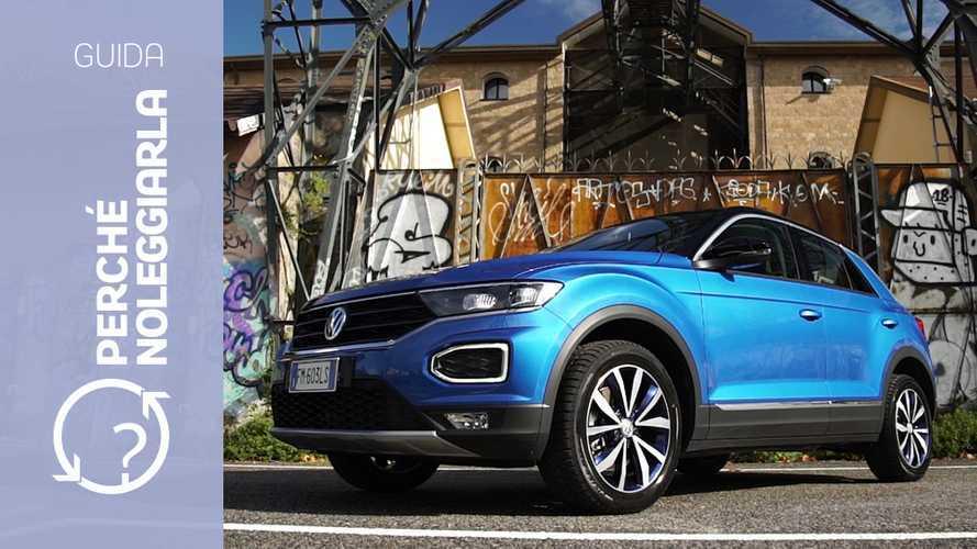 Volkswagen T-Roc, perché noleggiarla... invece di comprarla