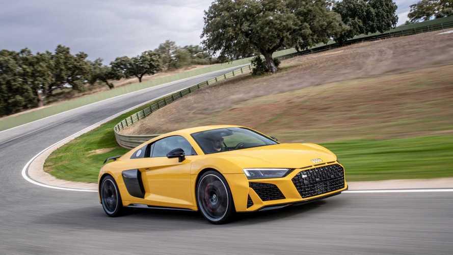 Primera prueba Audi R8 2019 circuito Ascari