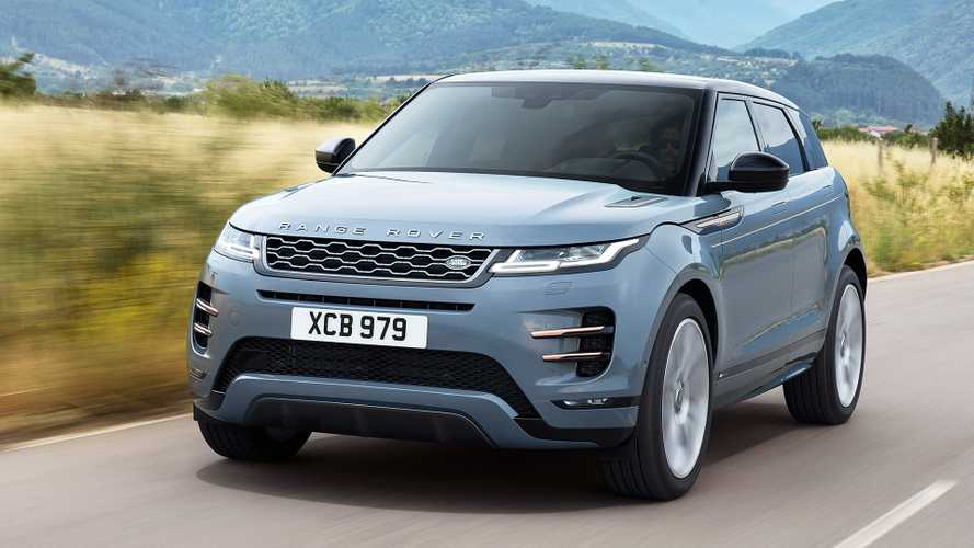 2020 Range Rover Evoque shows its Velar traits on video
