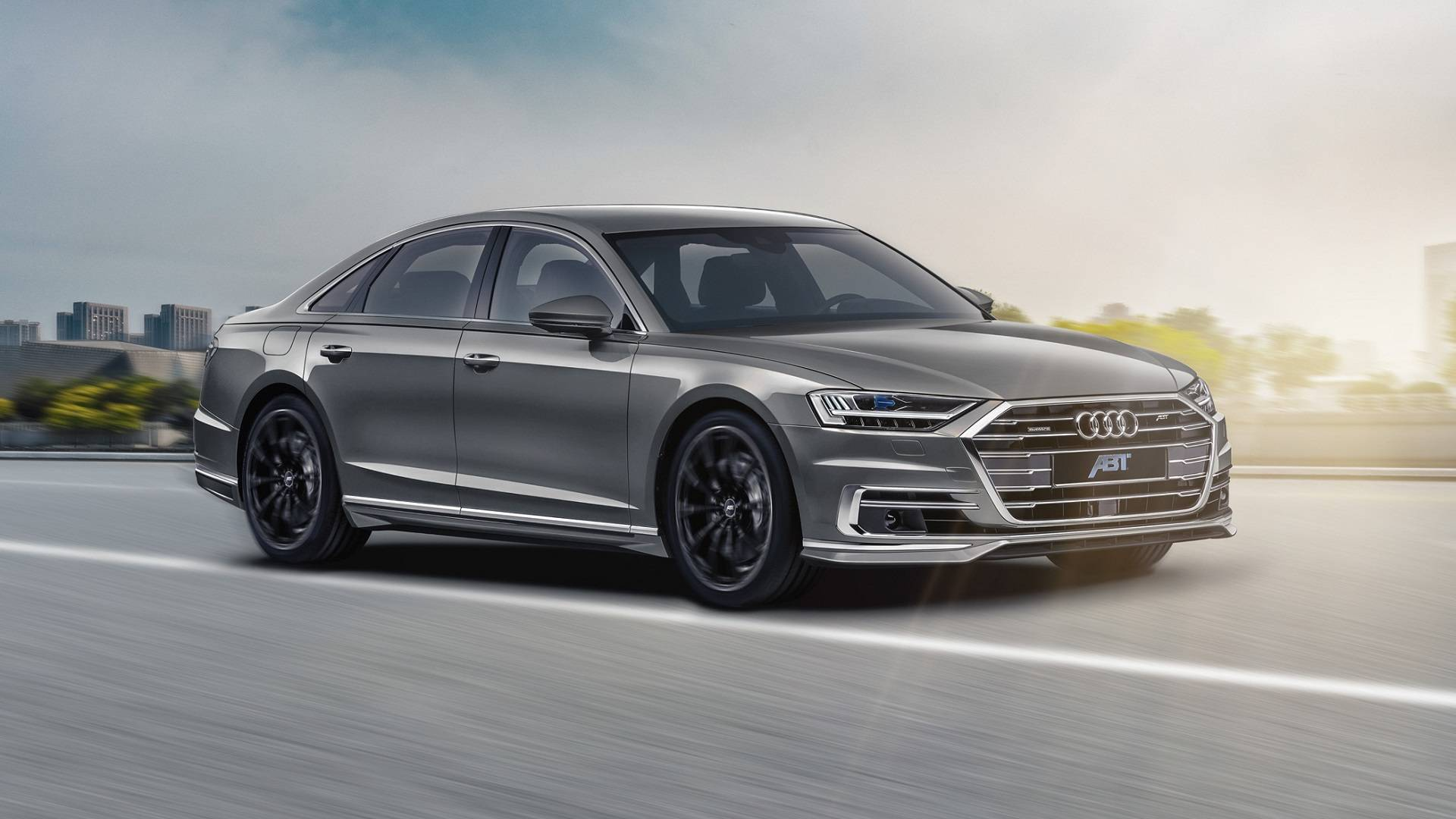 Abt Gives New Audi A8 A Discreet Sporty Touch