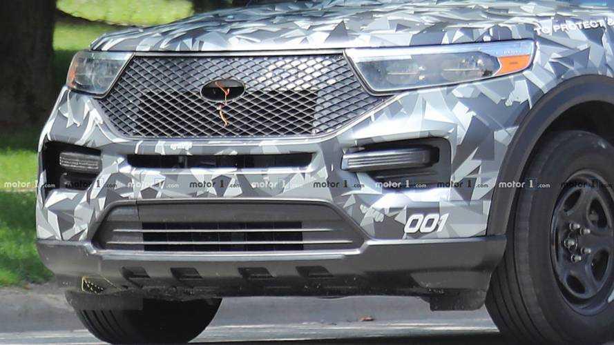 2020 Ford Explorer Police Interceptor Caught Completely