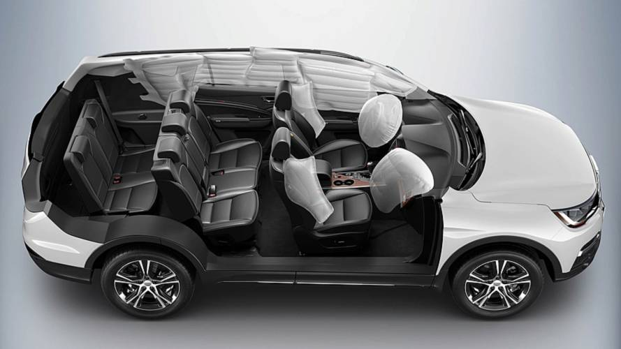 Lifan X80 - 7 lugares e airbags