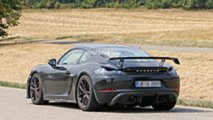 Porsche 718 Cayman GT4 spy photo
