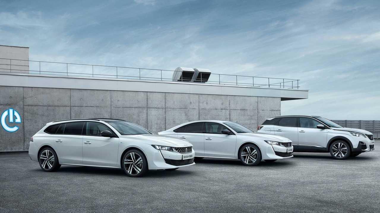 Peugeot 508, 508 SW y 3008 2019 híbridos enchufables