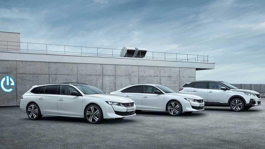 Peugeot 3008 и 508 стали гибридами
