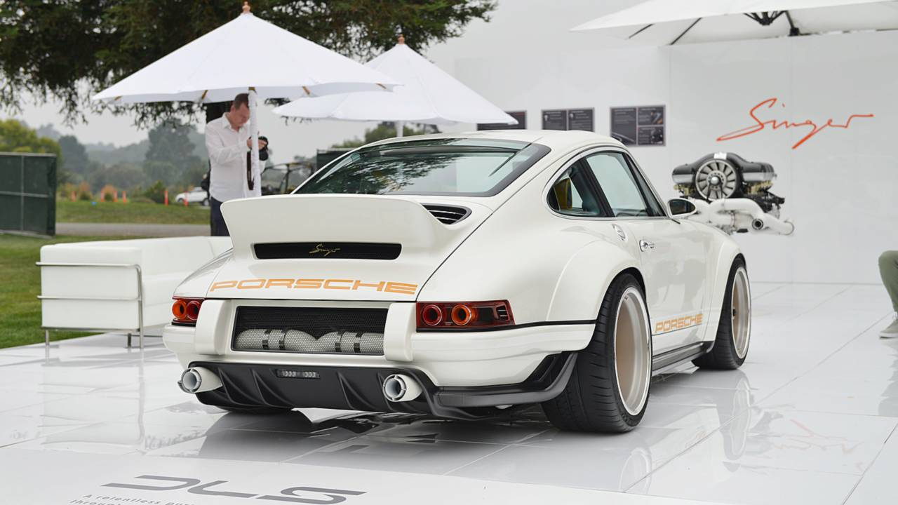 911 Restored By Singer Williams At Pebble Beach Is Porsche
