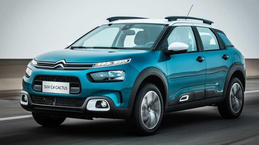 Citroën C4 Cactus ganhará versão totalmente elétrica em 2020