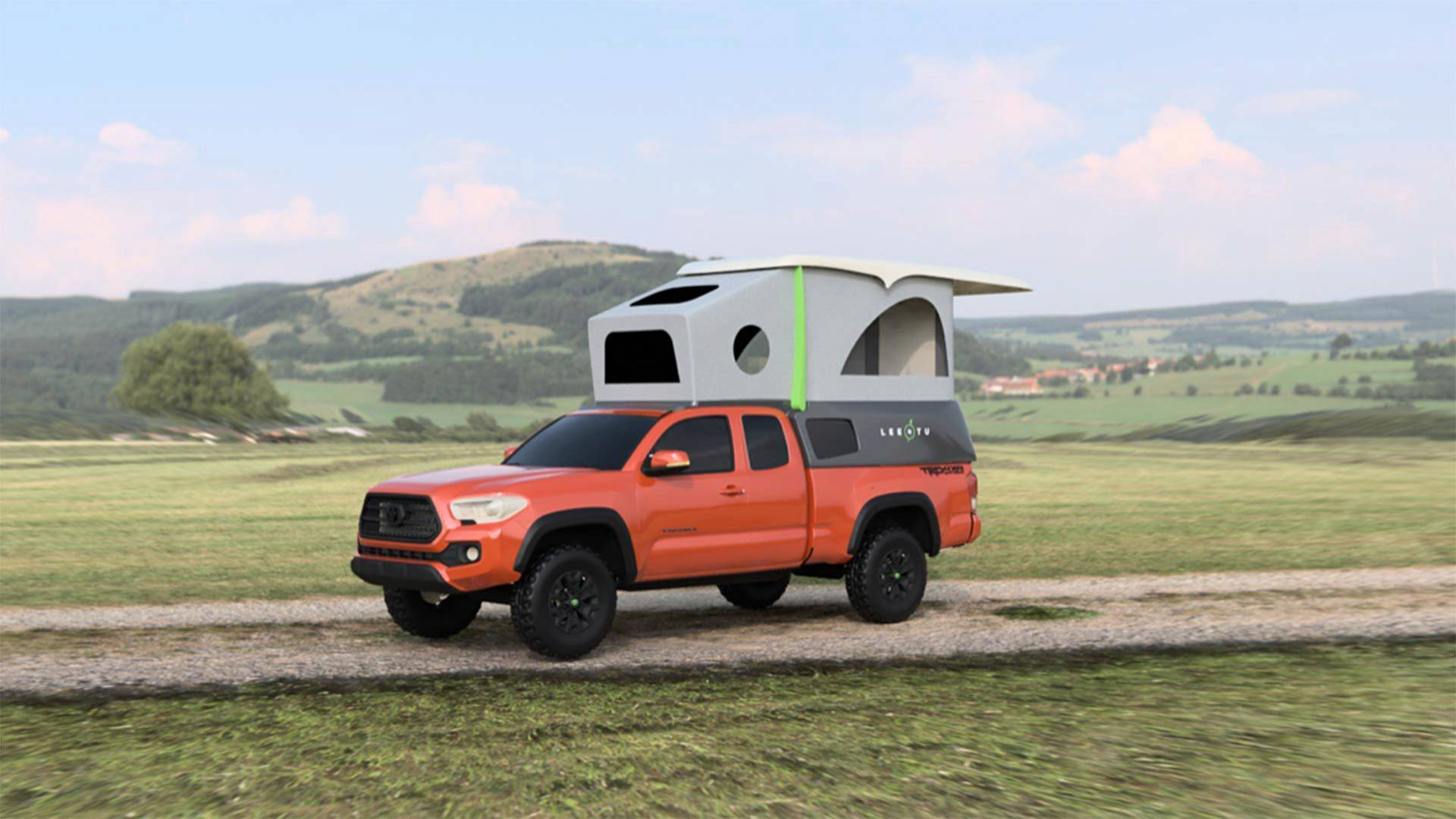 Leentu Converts Toyota Tacoma Into A Comfy Place To Camp