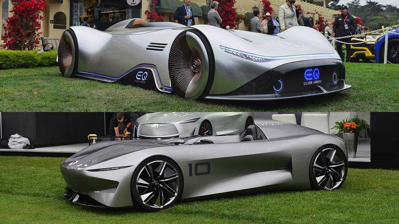 Worst: Speedster Concepts (Mercedes, Infiniti)