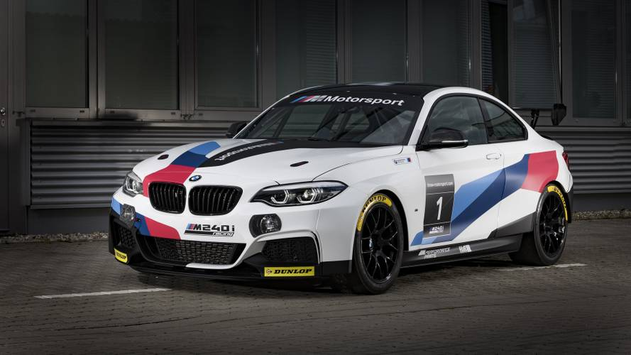 BMW M235i Racing Cup Gets Evo Package And Transforms Into M240i