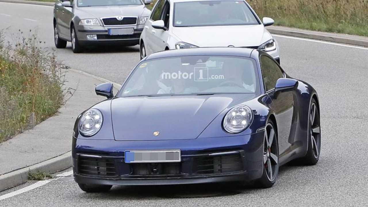 Porsche 911 photos espion