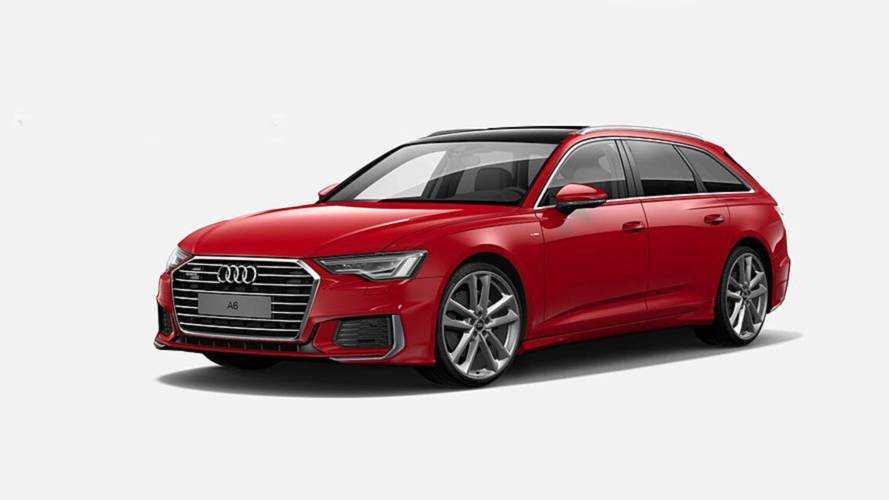 Ouverture des commandes pour l'Audi A6 Avant