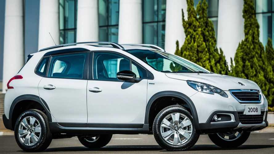 Peugeot oferece 2008, 3008 e 5008 com taxa zero e bônus de até R$ 7 mil