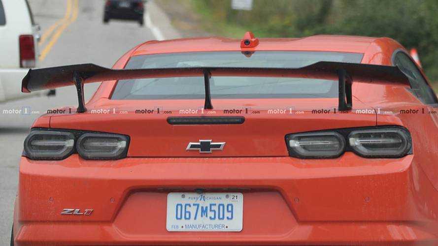 2019 Chevy Camaro ZL1 1LE Spy Shot