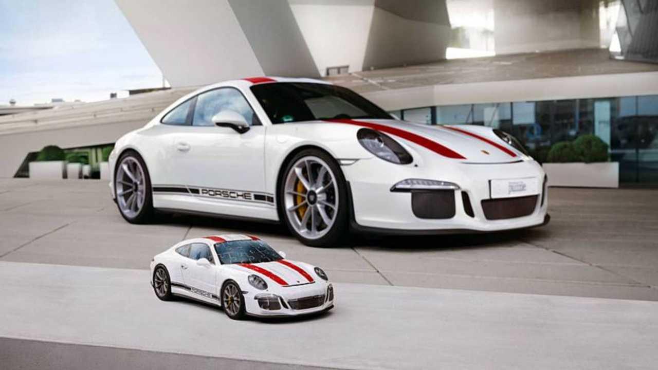 Porsche 911 R 3D Puzzle