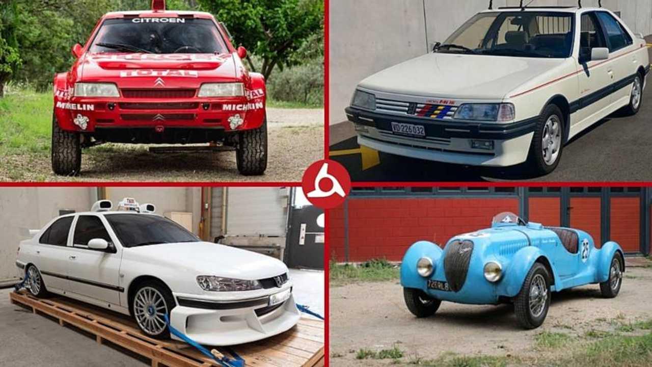 10 Clasicos De Peugeot Y Citroen Que Salen A Subasta