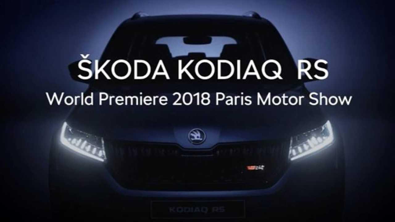 Skoda Kodiaq RS video sound