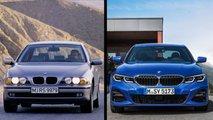 Новая BMW 3-й серии против BMW 5-й серии (E39)