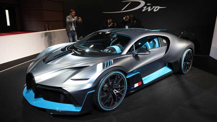 Bugatti al Salone di Parigi 2018