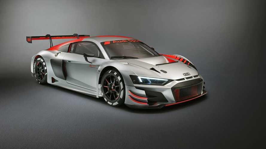 Audi R8 LMS GT3 al Salone di Parigi