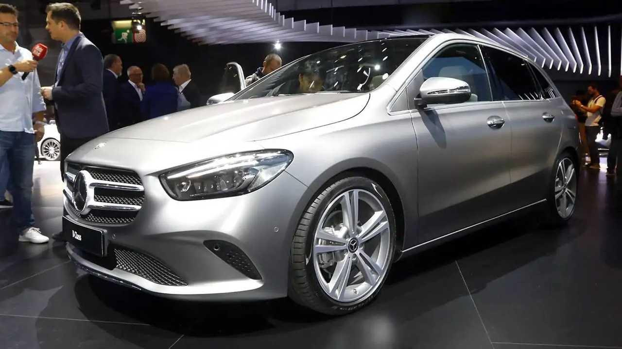 Top: Mercedes B-Klasse