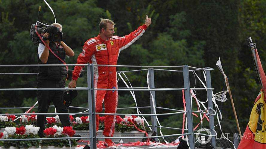 Kimi Raikkonen Italian GP Monza 2018