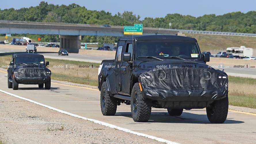 Jeep Scrambler Spy Photo