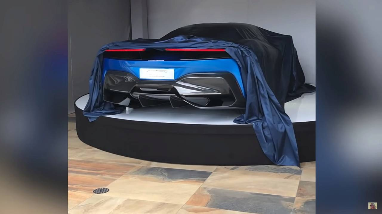 Pininfarina PF0 video tease