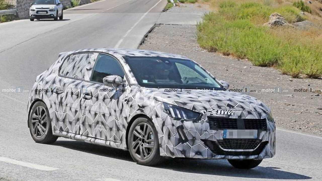 Peugeot 208 2019, fotos espía