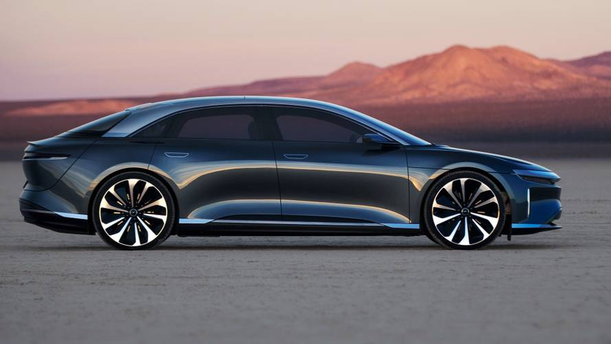 Lucid Motors batte Tesla: la Air ha 832 km di autonomia