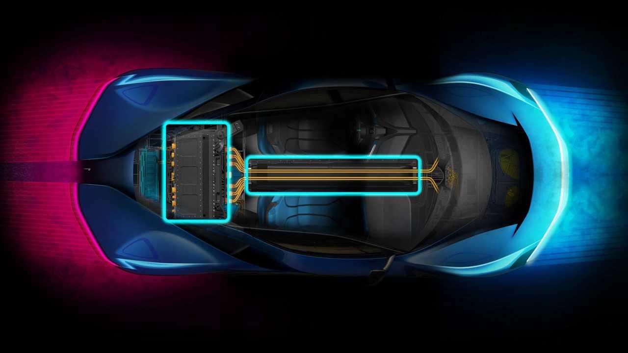 Pininfarina PF0 Powertrain Teaser
