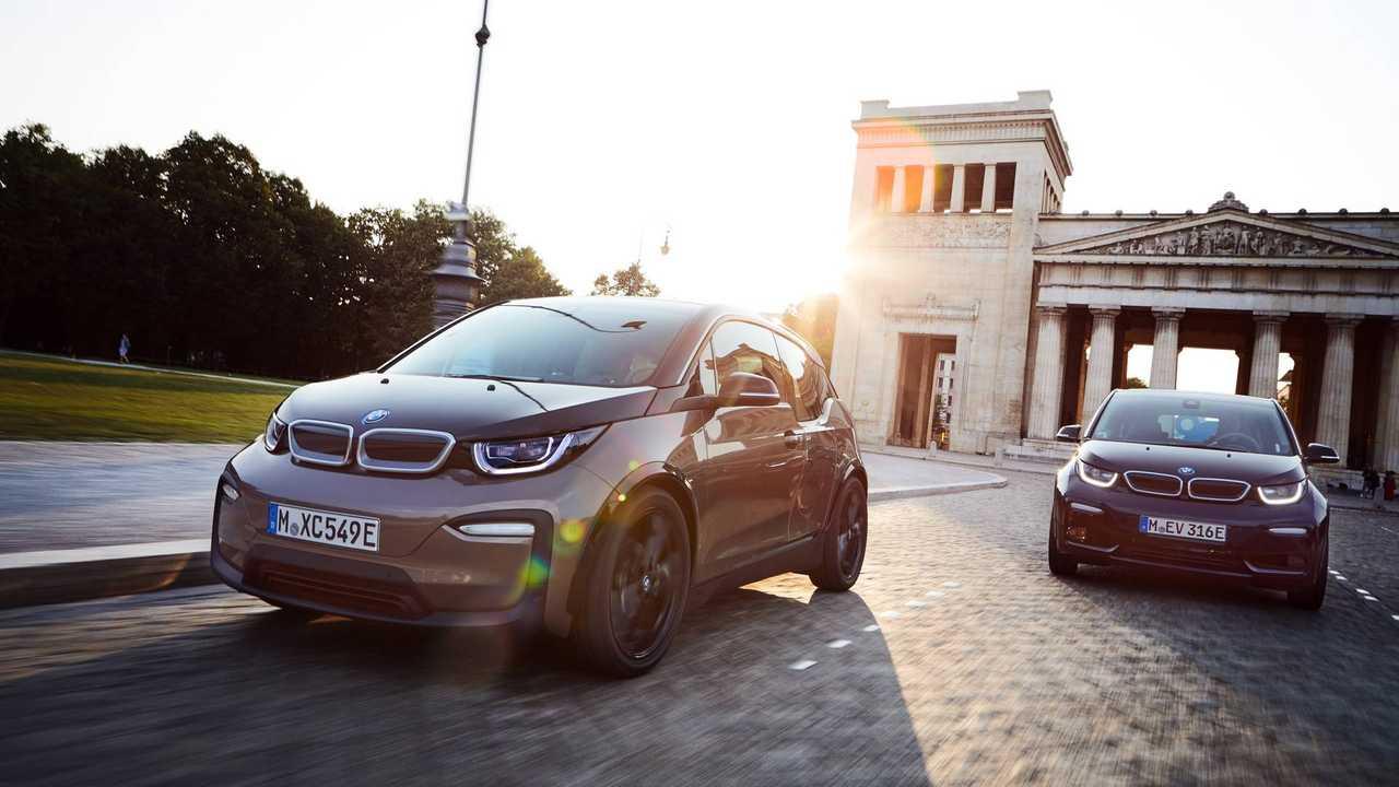 BMW i3 and i3S upgrades, November 2018