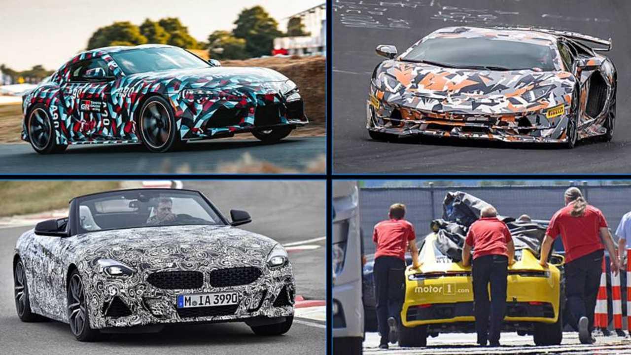 10 coches deportivos que llegar u00e1n en 2019  en fotos esp u00eda