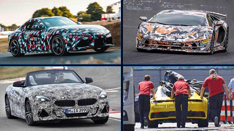 10 coches deportivos que llegarán en 2019, en fotos espía