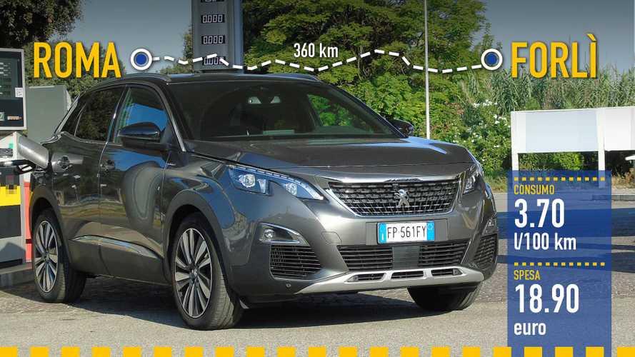 Peugeot 3008 BlueHDi, la prova dei consumi reali