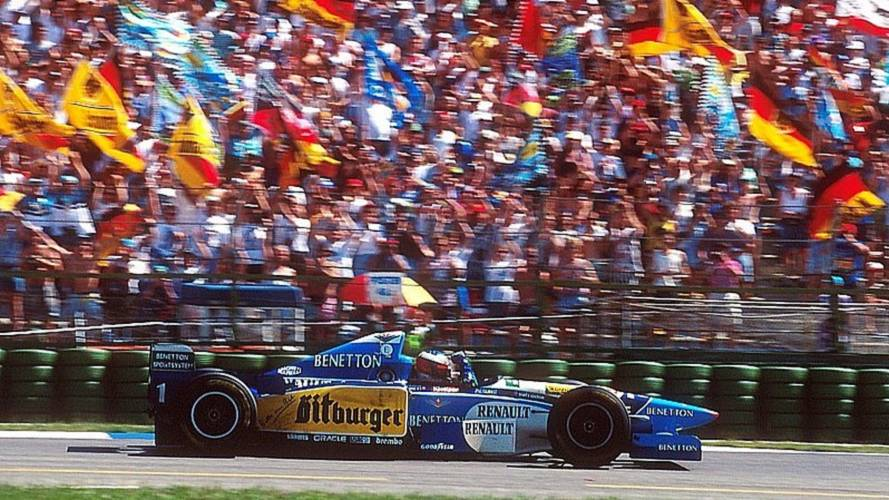 Vor 23 Jahren: Schumachers erster Heimsieg in Hockenheim