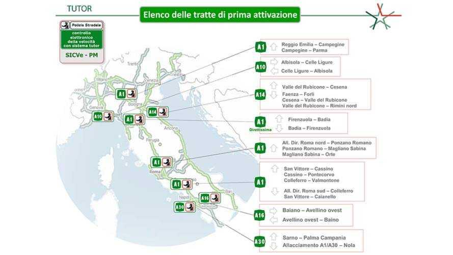 Mappa Tutor Luglio 2018 - PS