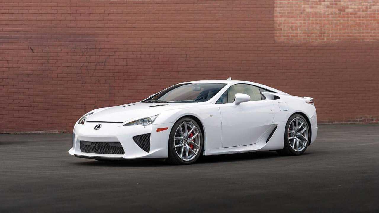 Lexus LFA for sale at RMSotheby's Monterey auction