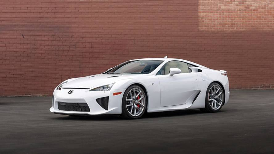 Lexus LFA for sale at RMSotheby's Monterey auction