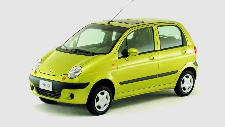 Daewoo Matiz, i 20 anni della Fiat