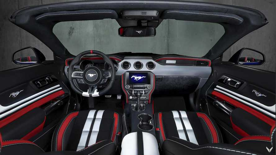 Vilner améliore l'habitacle de la Ford Mustang GT Cabriolet