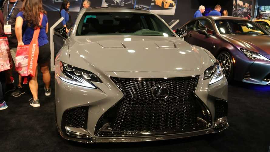 Lexus Teases Sporty Takes Of LS And RC For SEMA, Plus A Boozy ES [UPDATE]