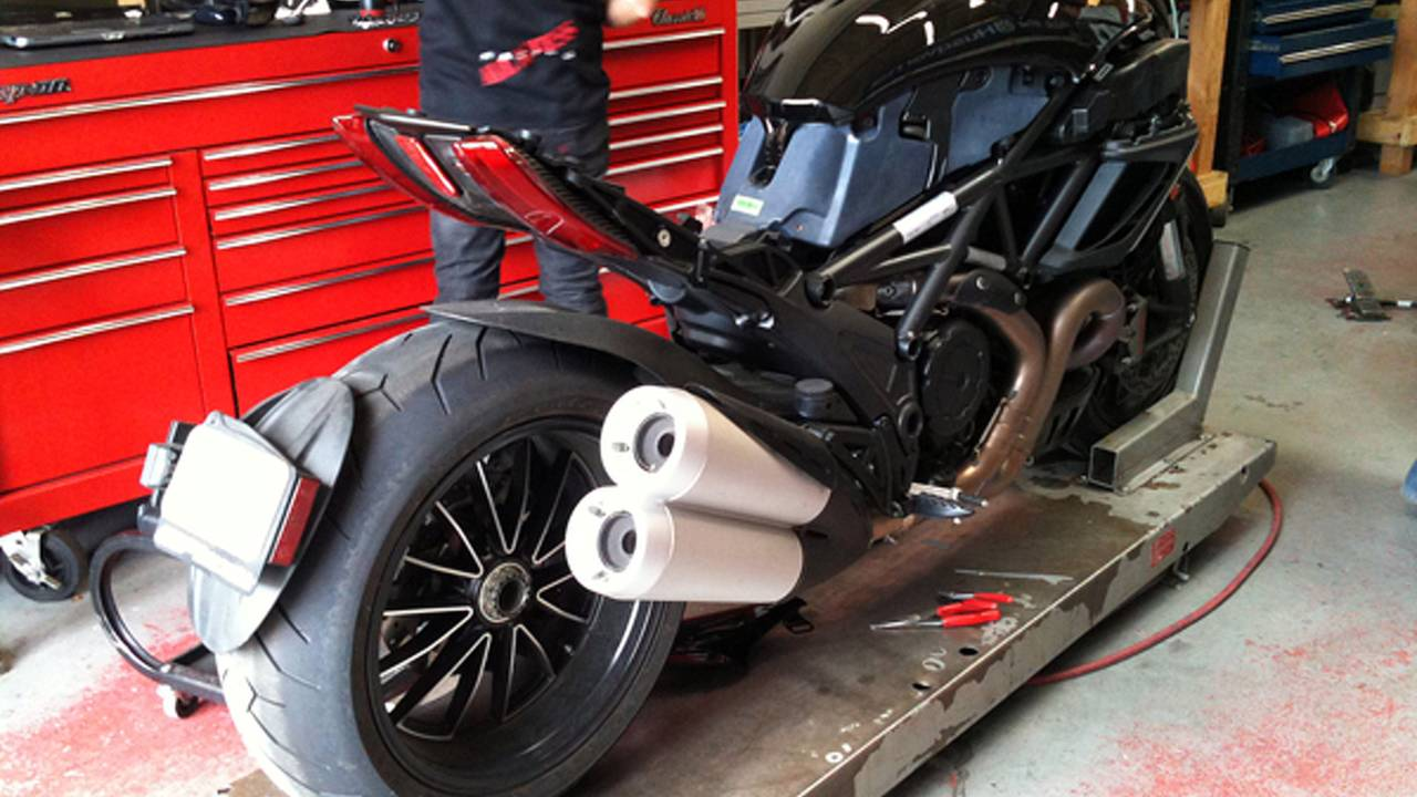 What the hell is the Diavel?