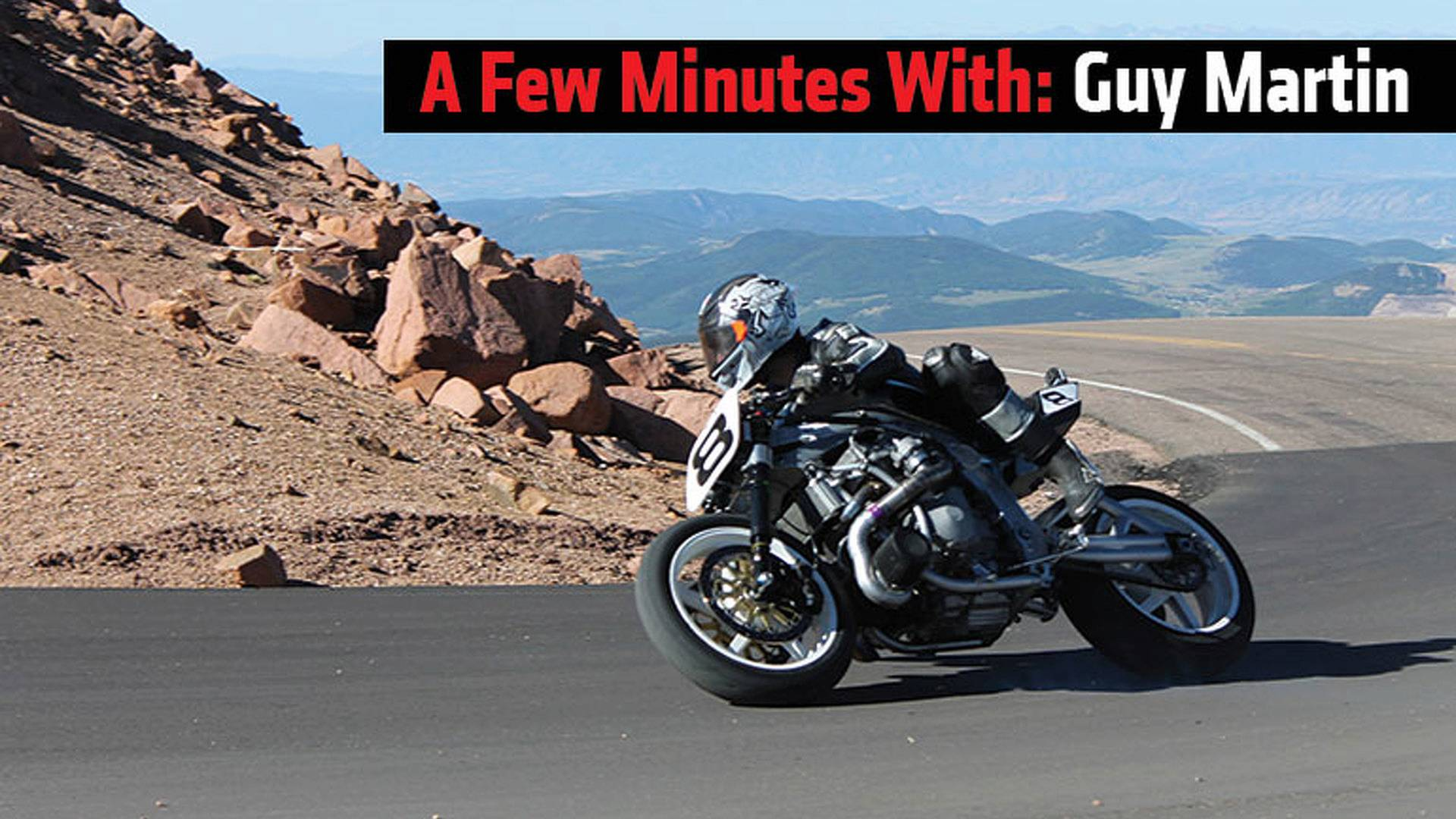 A Few Minutes With Guy Martin