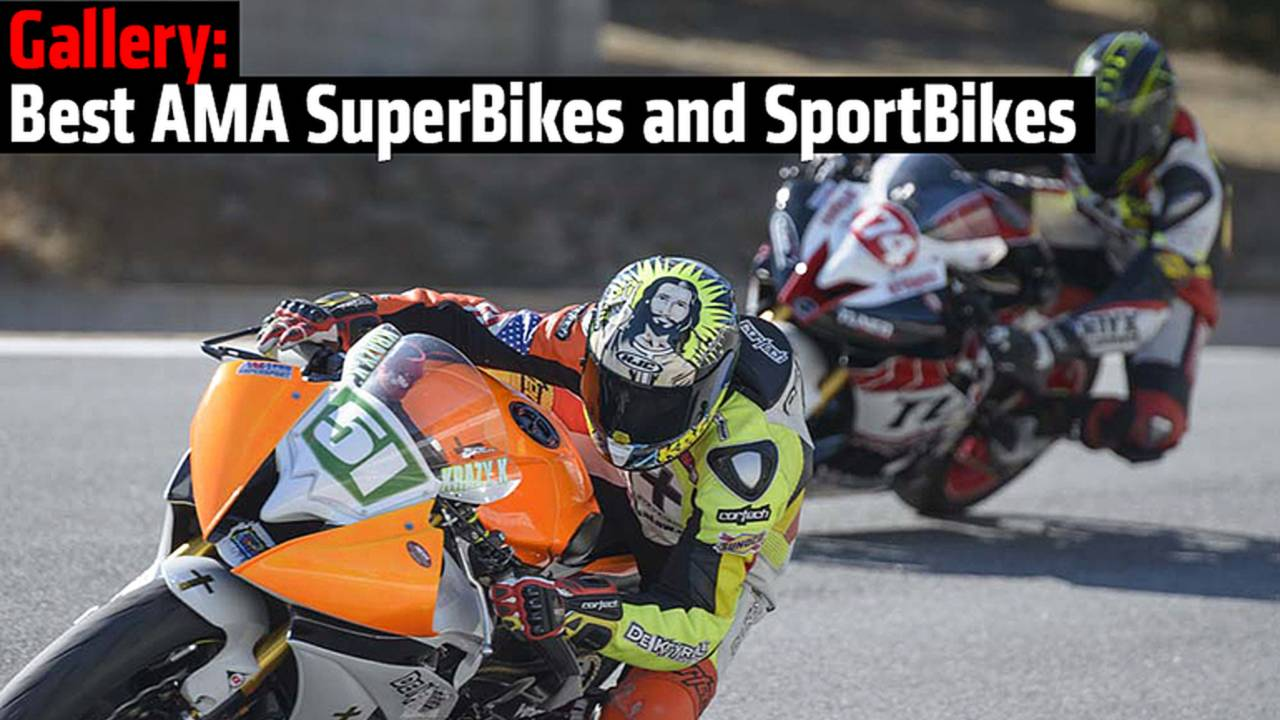Gallery: Best AMA SuperBikes and SportBikes