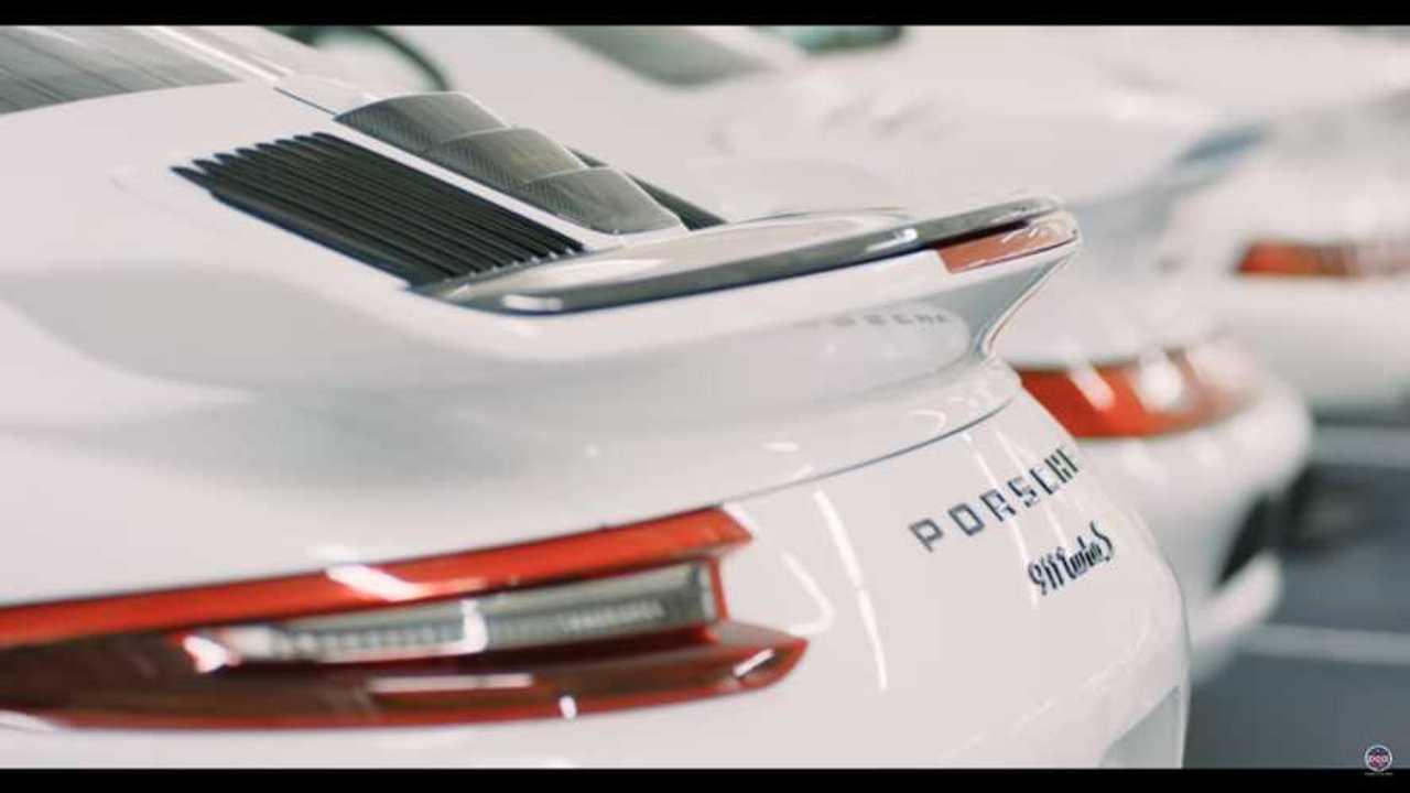 Beyaz Porsche Koleksiyonu