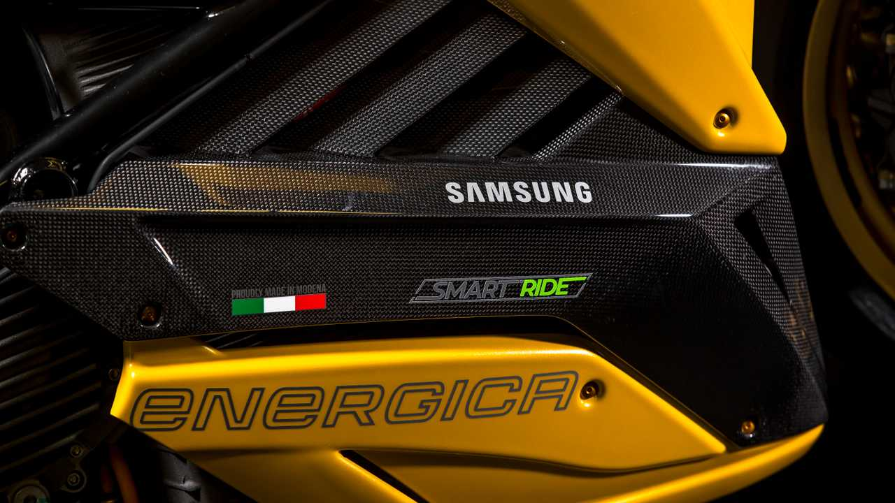 The E-Bolide from Energica and Samsung